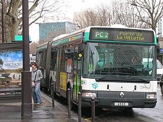 Renault Irisbus Agora L sur la ligne PC2