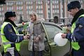 RIAN archive 378448 Yekaterinburg traffic police congratulated female drivers on International Women's Day.jpg
