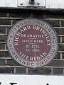 RICHARD BRINSLEY SHERIDAN DRAMATIST. LIVED HERE. B 1751. D 1816.JPG