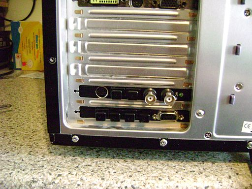 RME Hammerfall DSP 9652 fitted on PC expansion slot