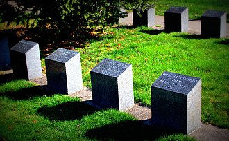 Mount Olivet Cemetery (Halifax) - Graves of some of the dead due to the sinking of the RMS Titanic