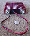 RM Italy KL-203 linear amplifier rear with unfused power cable.jpeg