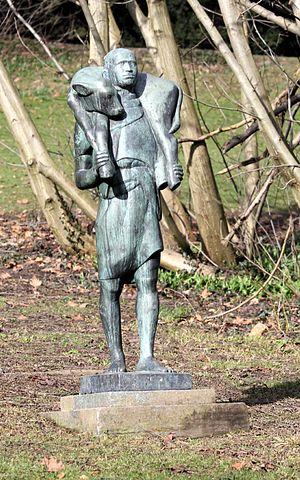 Alice Boner - Shepherd Bronze by Alice Boner, in Rieterpark Zurich
