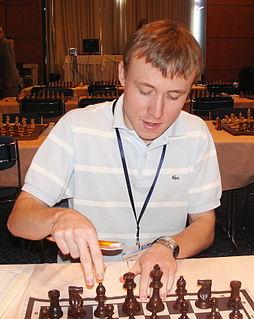 Ruslan Ponomariov Ukrainian chess player