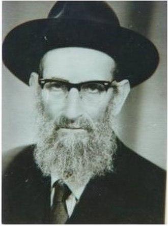 Amram Aburbeh - Image: Rabbi Amram Aburbeh photo En