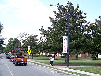 Radford University - A view of Radford's campus