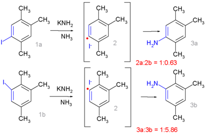 Radical-nucleophilic aromatic substitution Bunnett 1970