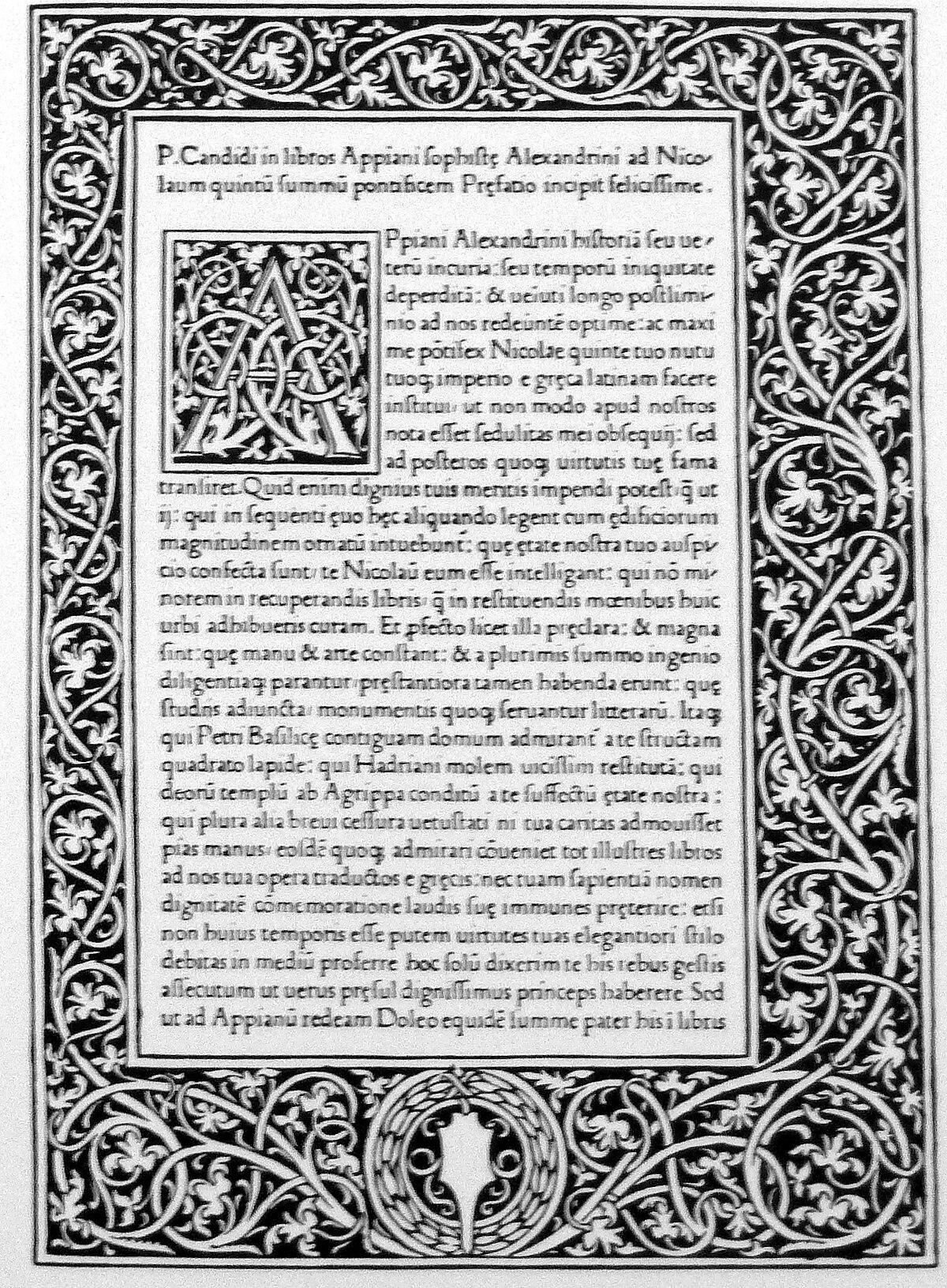 Storia Romana Appiano Wikipedia