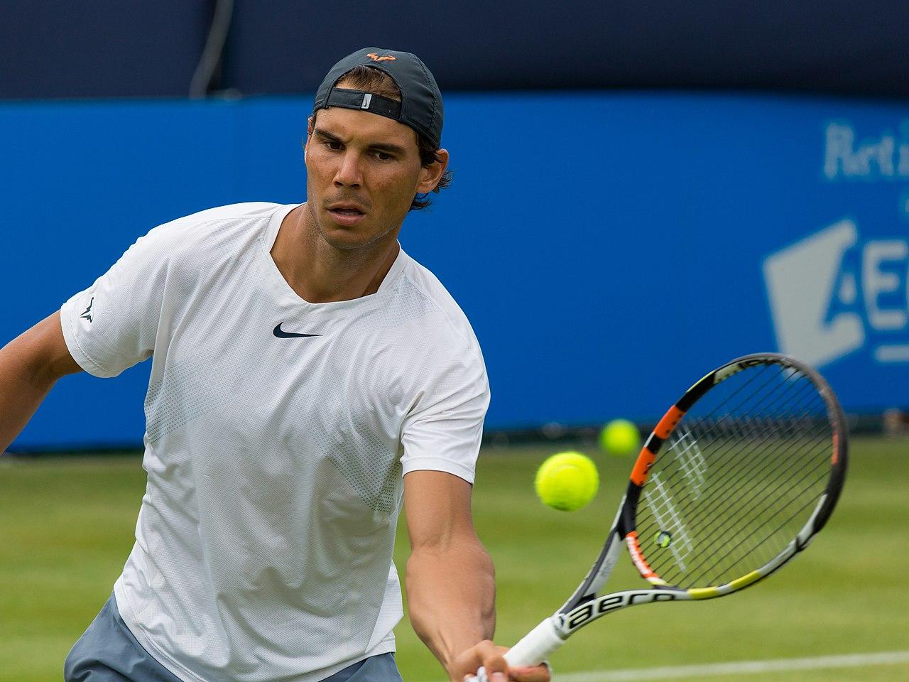 Nadal Wikipedia: Súbor:Rafael Nadal 5, Aegon Championships, London, UK