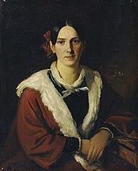 Luise von Schwind, the wife of the painter Moritz von Schwind