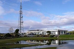 RTÉ Raidió na Gaeltachta - Raidió na Gaeltachta headquarters in Casla, Co. Galway.