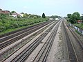 Rail lines from Dudden Hill Lane - geograph.org.uk - 574791.jpg