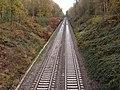 Railway Line passing through Sutton Park - geograph.org.uk - 1571784.jpg