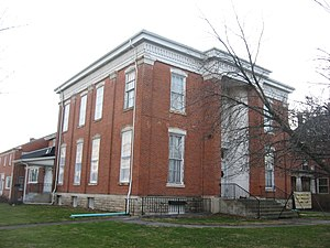 National Register of Historic Places listings in Sandusky County, Ohio - Image: Ralph P. Buckland House