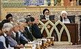 Ramadan 1439 AH, Qur'an reading at Fatima Masumeh Shrine, Qom - 17 May 2018 01.jpg