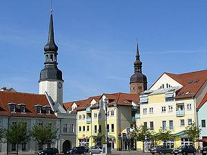 Spremberg - Market square
