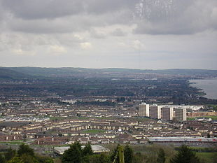 "Overlooking the Rathcoole area of Newtownabbey from <a href=""http://search.lycos.com/web/?_z=0&q=%22Cavehill%22"">Cavehill</a>"