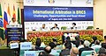 "Ravi Shankar Prasad addressing at the inauguration of the Conference on ""International Arbitration in BRICS Challenges, Opportunities and Road ahead"", in New Delhi (1).jpg"