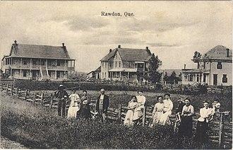 Rawdon, Quebec - Rawdon, postcard