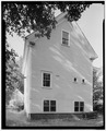 Rear (south) elevation of carriage barn. - William Thompson House, 45 Central Street, Franklin, Merrimack County, NH HABS NH,7-FRANK,5-4.tif
