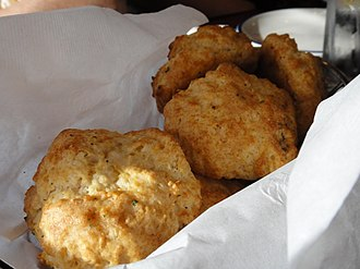 Red Lobster - A basket of Cheddar Bay Biscuits from Red Lobster