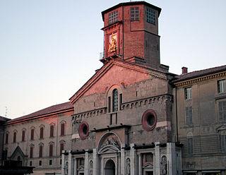 building in Reggio nell'Emilia, Italy