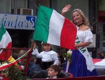 Argentina-Etnie-Reina de Italia - fiesta del inmigrante - Obera