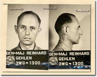 Peer de Silva - General Major Gehlen in 1945 (Photo: U.S. Army Signal Corps)