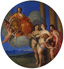 Allegory of John III Sobieski.
