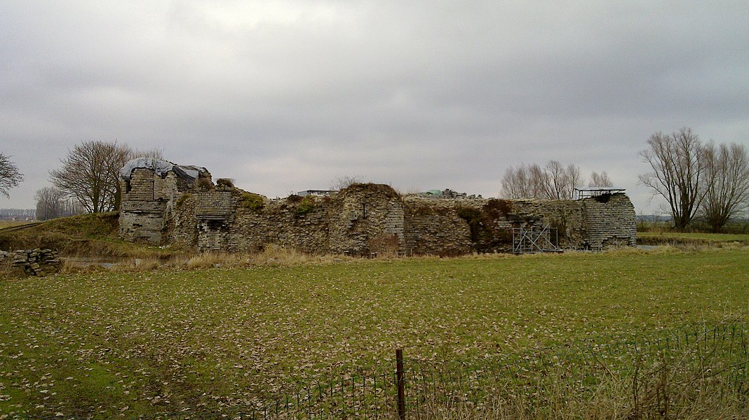 Remain of a castle