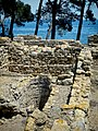 Remains of a cistern in the ancient Greek city of Neapolis in the archaeological site of Empúries.jpg