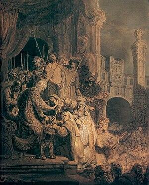 Christ before Pilate (Ecce Homo)