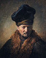 Rembrandt - Painting of an Old Man in a Fur Hat. If you want to be arrested in Tampa Bay, Florida just steal a police officer's hat