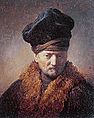 Rembrandt Harmenszoon van Rijn - Bust of an Old Man in a Fur Cap.JPG