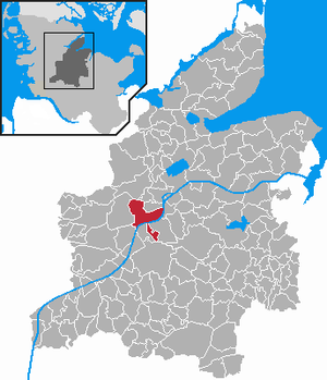 Rendsburg - Image: Rendsburg in RD
