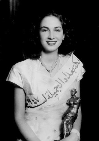 Iraqi beauty pageants - Renee Dangoor won the first title of Miss Iraq in 1947.