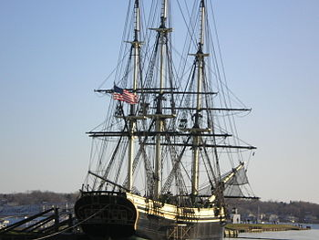 English: Replica of Friendship at Salem, Mass....