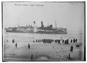 SS Northern Pacific (1914) - Rescue of passengers on January 2, 1919