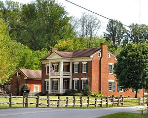 National Register of Historic Places listings in Carter County, Tennessee - Image: Reuben Brooks Farm tn 1