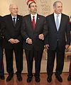 Reuven Rivlin. Daniel B. Shapiro. Benyamin Netanyahu (19189474790) (cropped).jpg