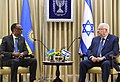 Reuven Rivlin and Benjamin Netanyahu received the President of Rwanda at Beit HaNassi, July 2017 (9305).jpg