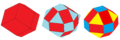 Rhombic dodecahedron rectified to rhombicuboctahedron.png