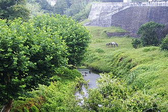 Flamengos - The Ribeira dos Flamengos, a constant water source for early settlers