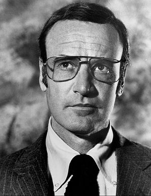 Richard Anderson - Anderson as Oscar Goldman in The Six Million Dollar Man, 1976