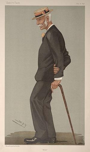 Mike Mitchell (cricketer) - Image: Richard Arthur Henry Mitchell, Vanity Fair, 1896 07 16
