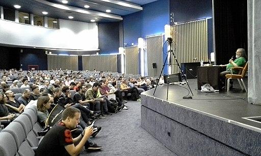 Richard Stallman opens Chaos Constructions 2019