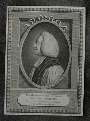 Richard Trevor (bishop) - The Honourable and Reverend Richard Trevor, Lord Bishop of Durham, an engraving by Joseph Collyer, after a drawing by R. Hutchinson.
