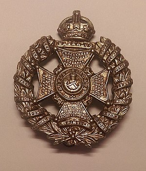 Rifle Brigade (The Prince Consort's Own) - Cap badge of the Rifle Brigade