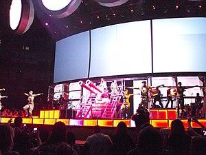 "Raining Men (Rihanna song) - Rihanna performing ""Raining Men"" on the Loud Tour in Oakland, California."