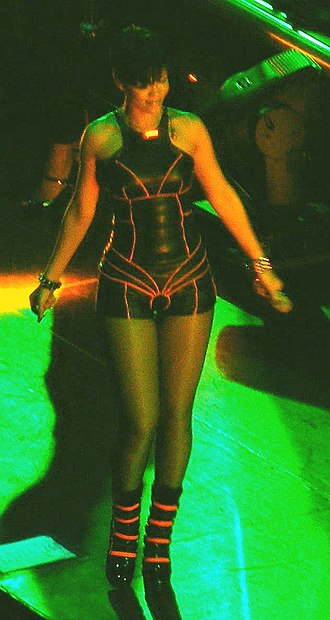 Glow in the Dark Tour - Rihanna on the tour